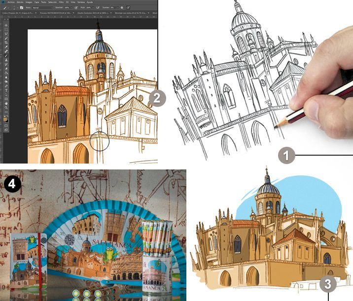 Proceso creativo Salamanca