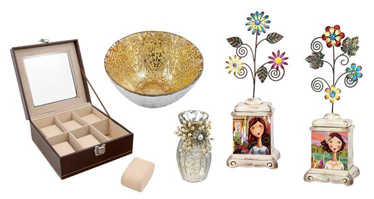 decoración varios objetos