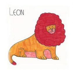 Dibujo del león