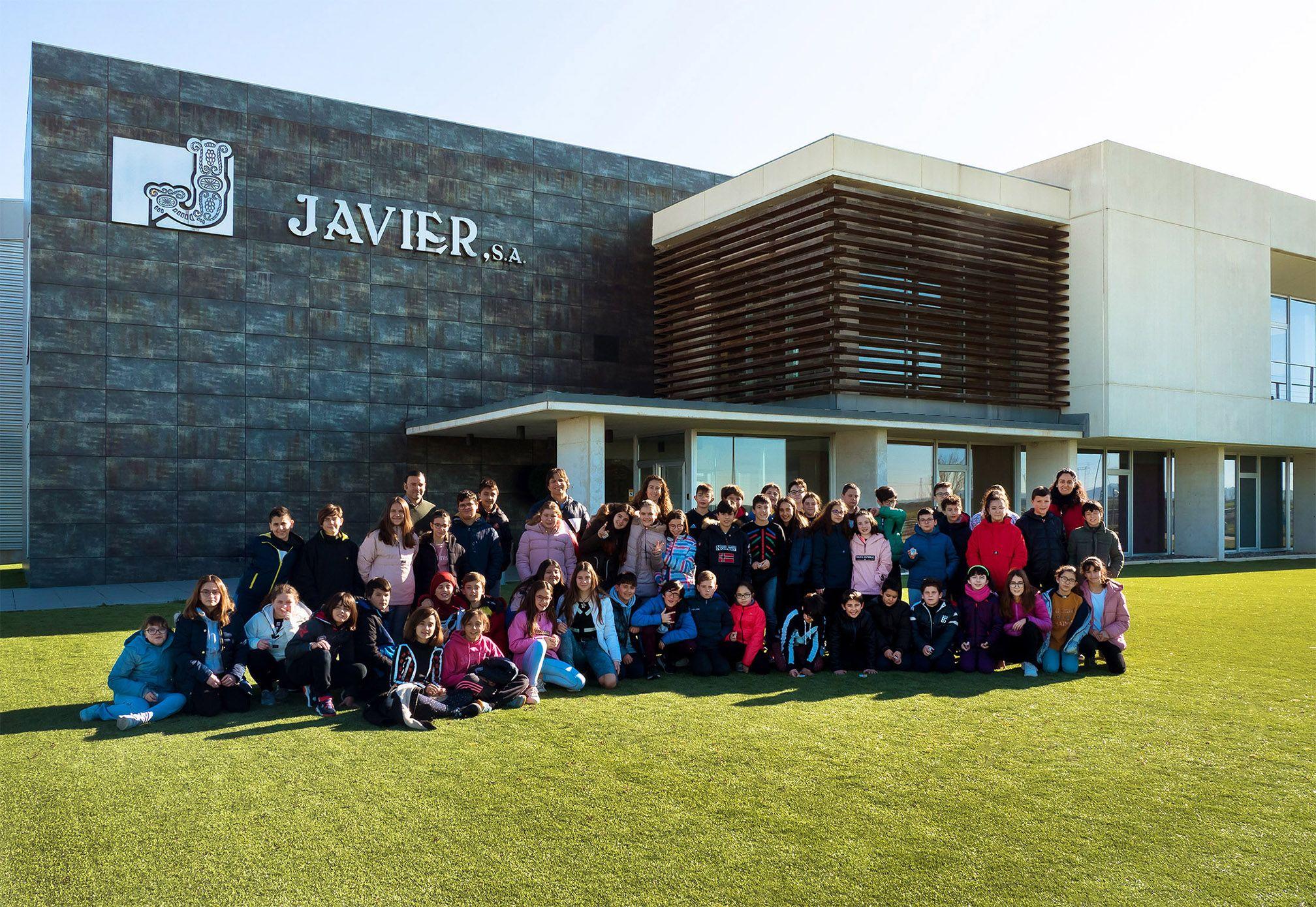 Escolares en Javier 2020