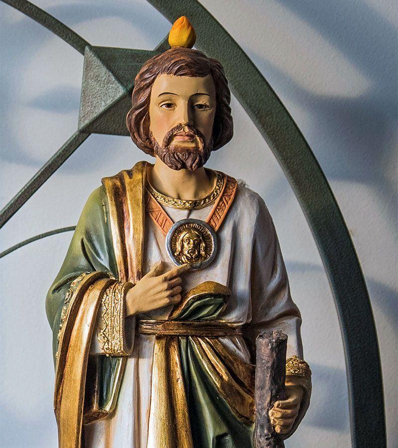Judas Tadeo, Santo de las causas dificilesDistintos tamaños.