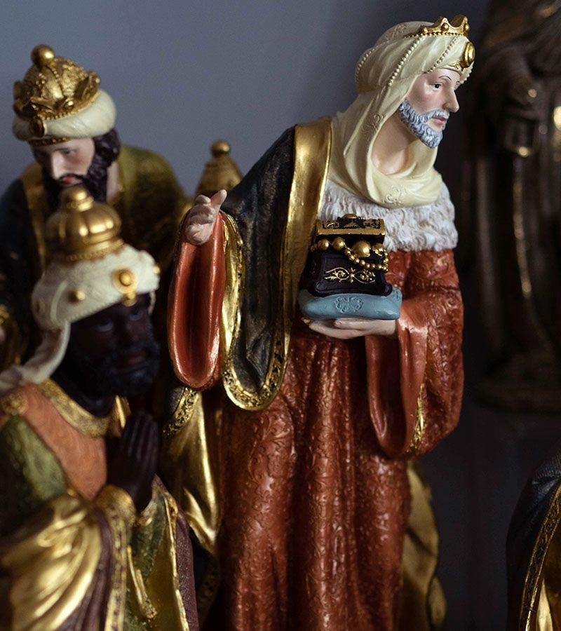 Three Wise Men, classical style Different sizes and models.