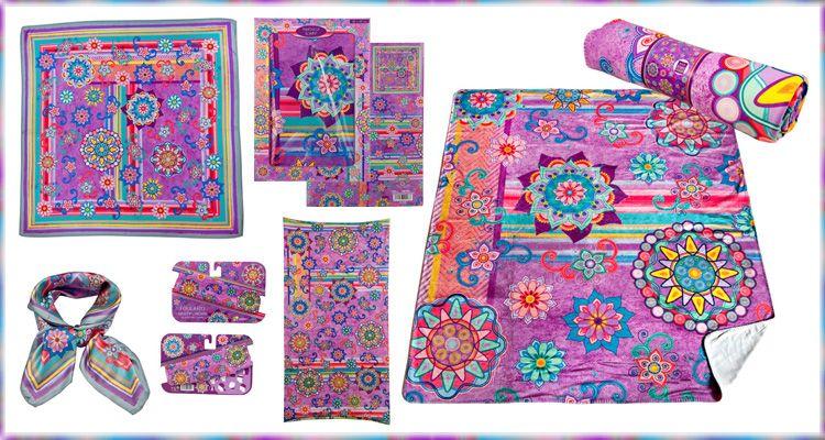 Textil Mandalas