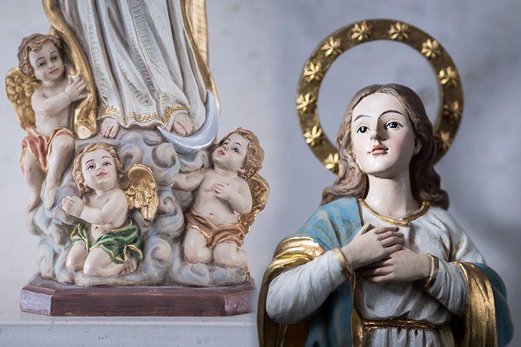 Virgen de la Inmaculada detalles